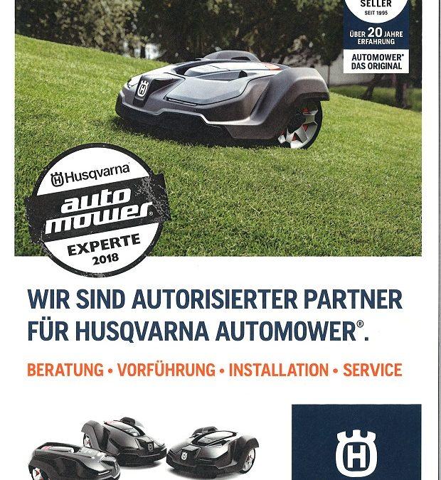 KVN ist Automower Experte 2018